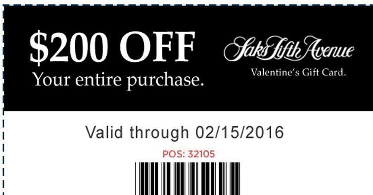 Get your card 1 per person saksfifthavenue coupon
