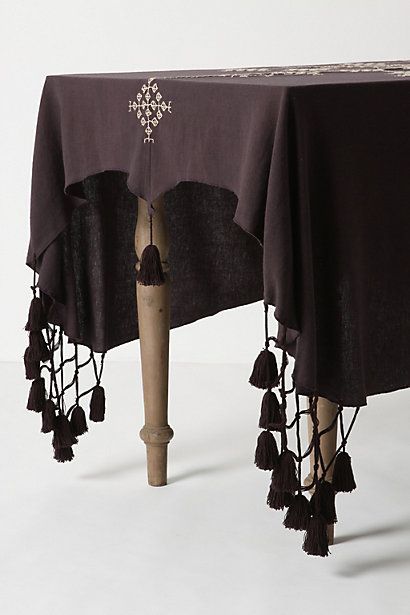 Victorian Mourning Table Cloth