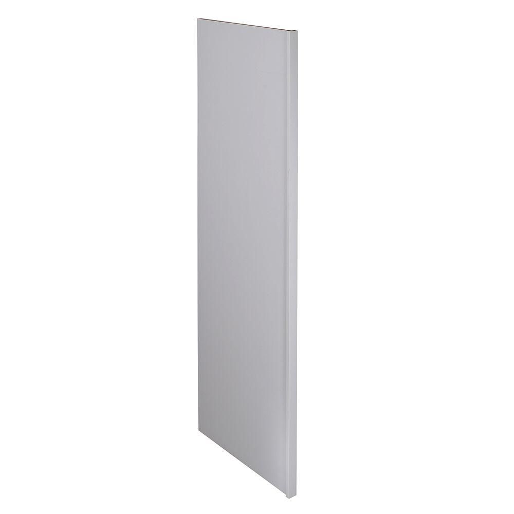 Home Decorators Collection Newport Assembled 1 5 X 90 X 24 In Pantry Utility Kitchen Refrigerator Panel Pacific White Refrigerator Panels Kitchen Refrigerator Moldings Trim