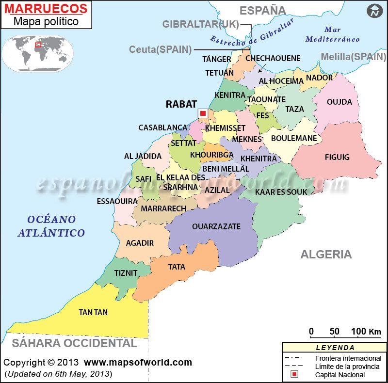 Mapa De Marruecos Ciudades.Mapa De Marruecos En 2019 Marruecos Viaje A Marruecos Y