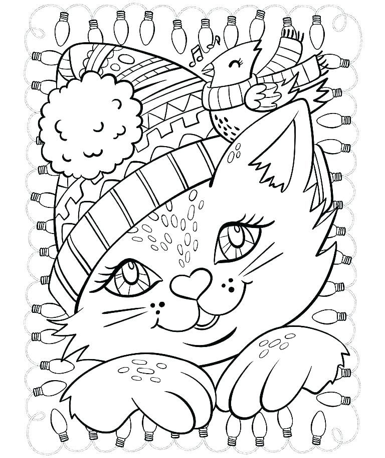 Winter Coloring Pages For Preschoolers Unique Winter Coloring