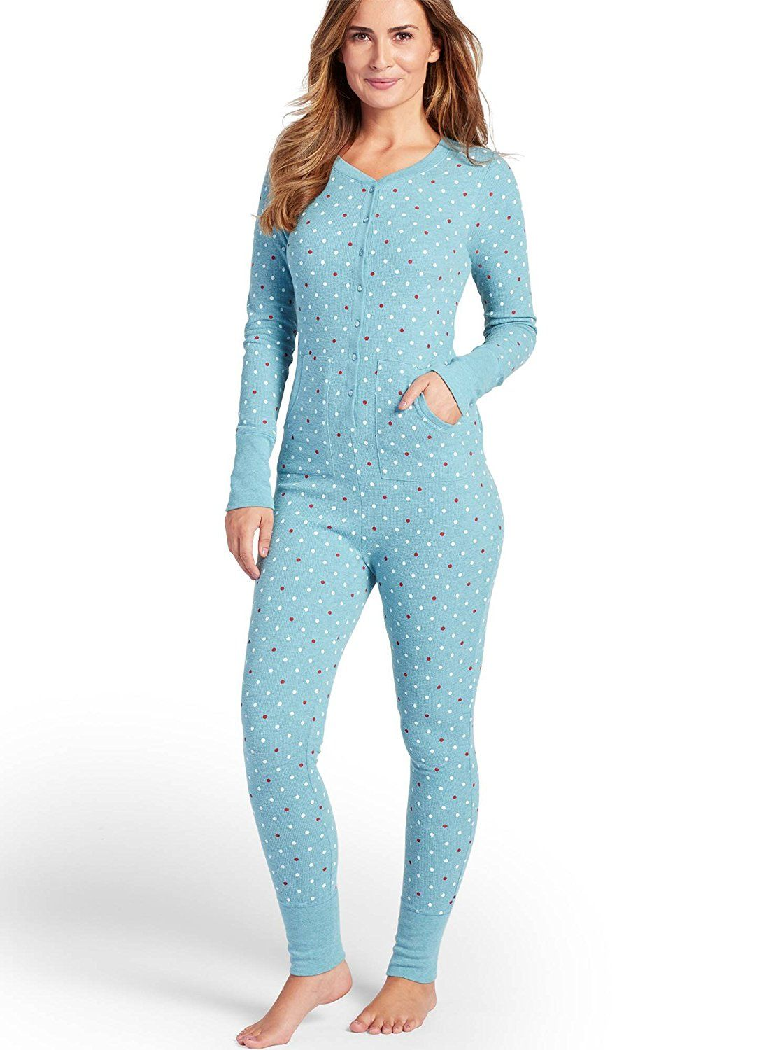 81589d10f56294 Jockey Women s Sleepwear Waffle Union Suit     Remarkable product available  now.   Hiking clothes