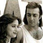 Sanjay Dutt with Madhuri Dixit | Hair styles, Beauty ...