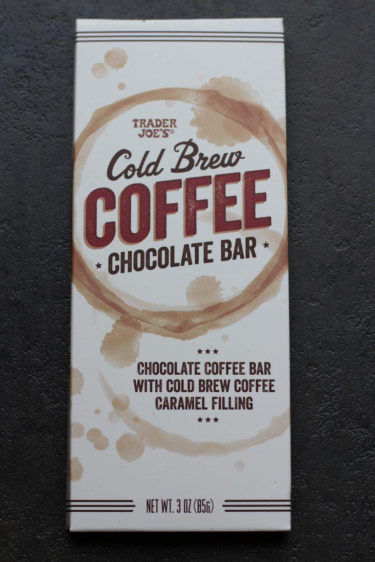 Trader Joe's Cold Brew Coffee Chocolate Bar Chocolate