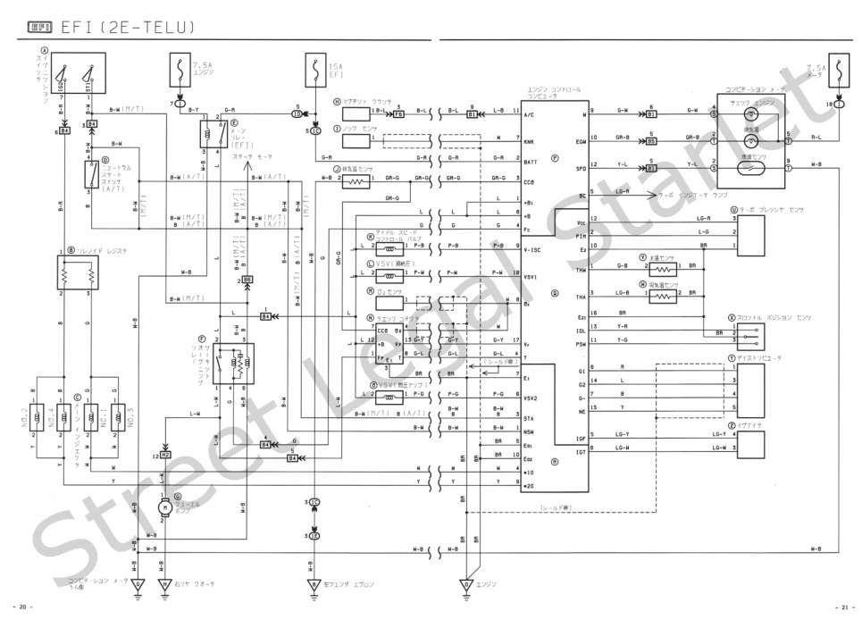 Toyota 4efte Engine Wiring Diagram And Toyota Efte Wiring