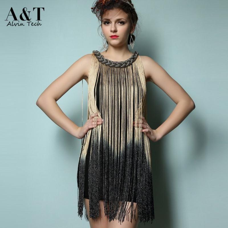 59805faa36 Ombre Fringe Dress Promotion-Shop for Promotional Ombre Fringe ...