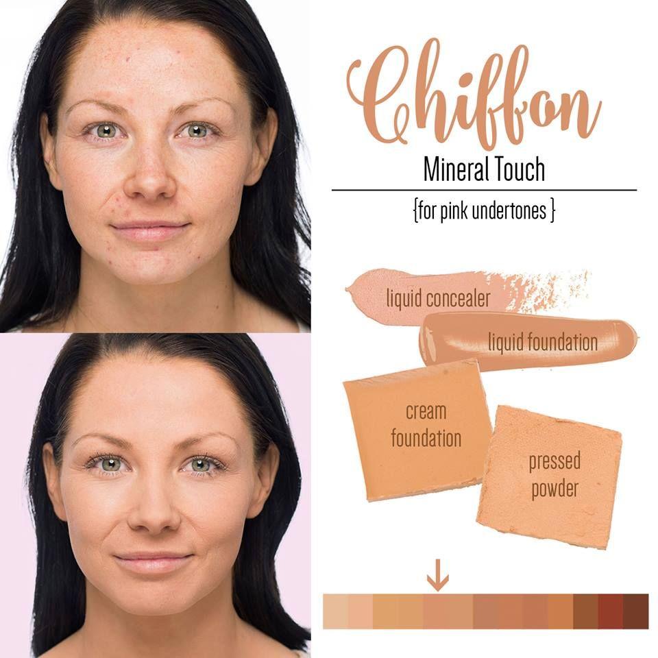 Younique Chiffon Liquid Powder Cream Foundation Younique