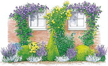 drei staudenbeete einfach nachgepflanzt garden yard pinterest g rten staudenbeet und. Black Bedroom Furniture Sets. Home Design Ideas