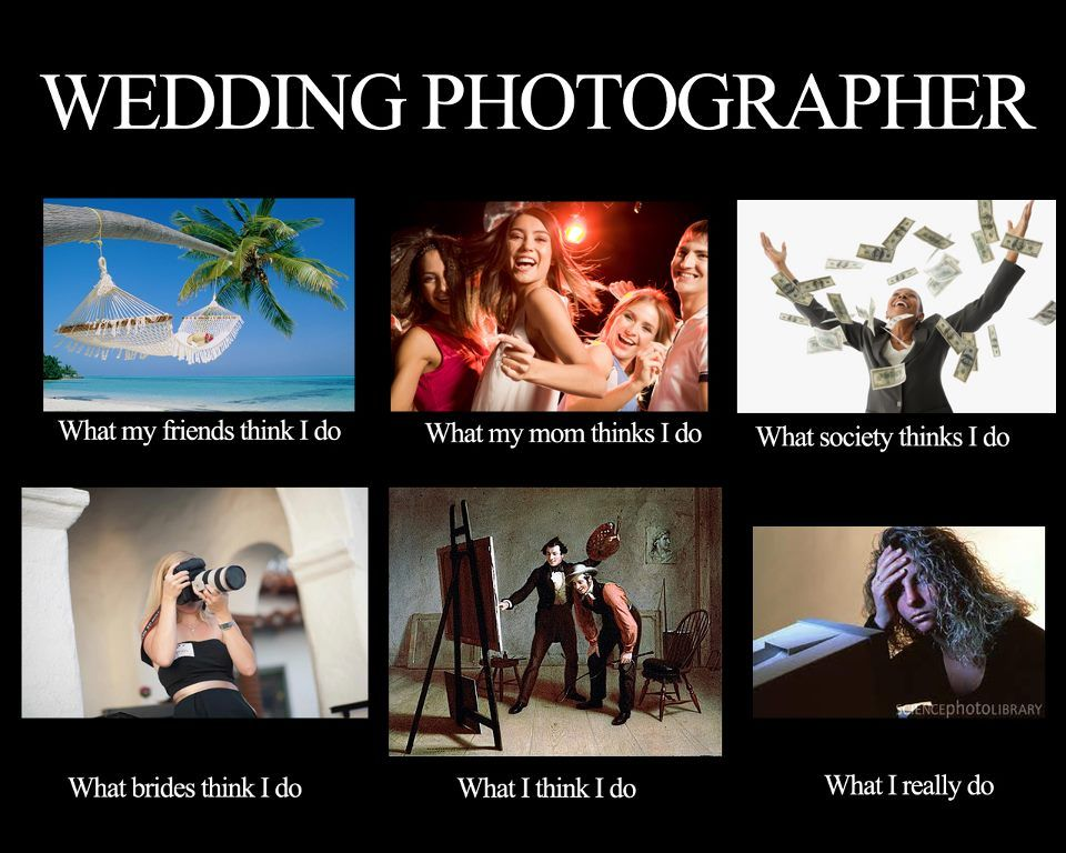[Funny] Photographer MEME What People Really Think I Do