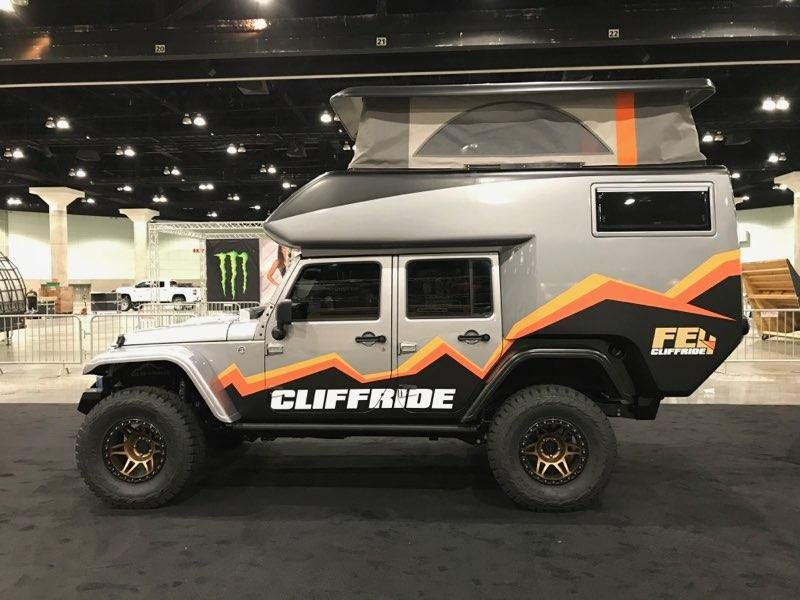 Jeep Camper Becomes The Ultimate Rock Crawling Adventure Vehicle