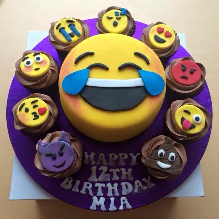 Emoji cake Pinteres