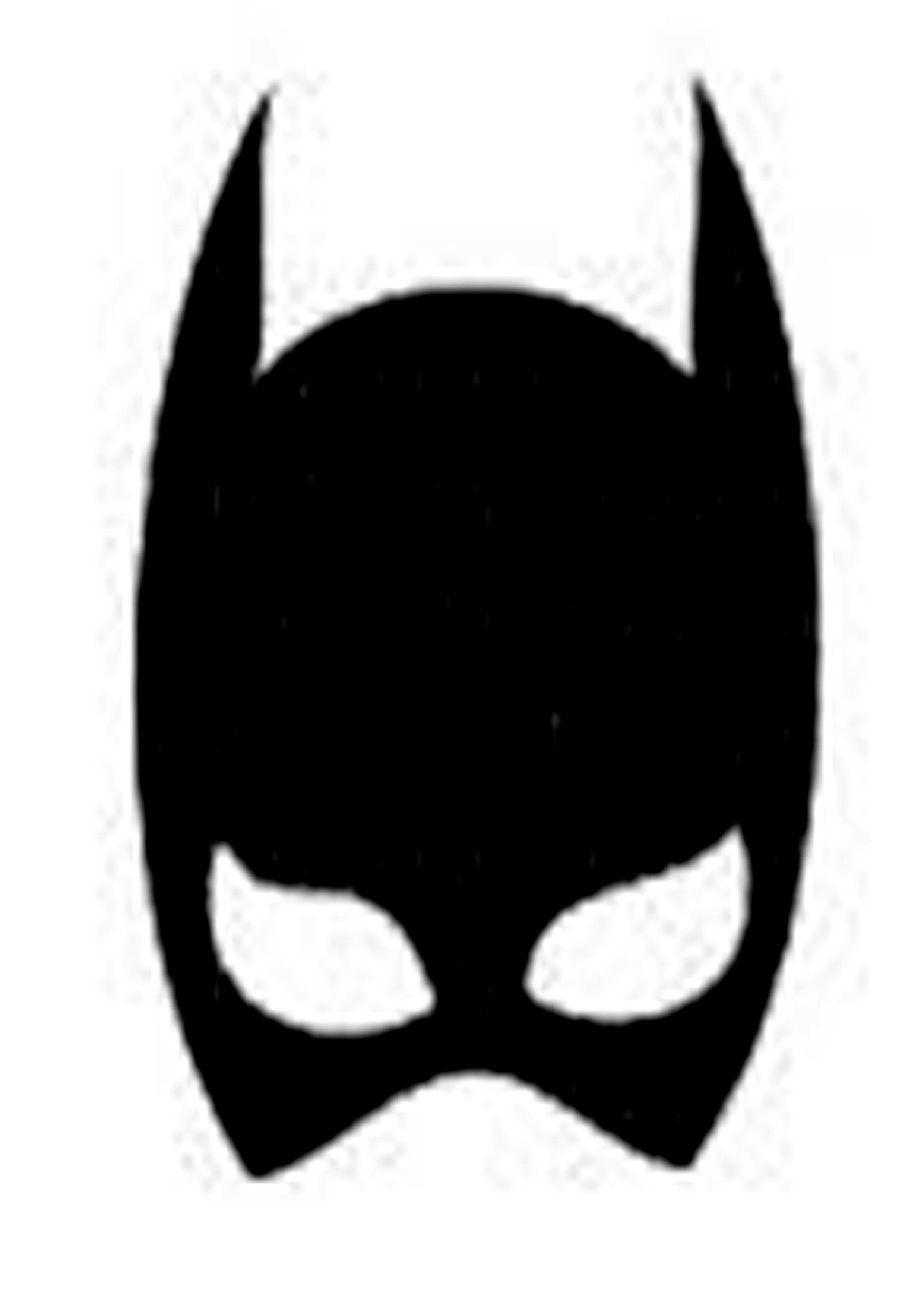 Maschere da stampare batman maschere super eroi for Maschera di flash da colorare