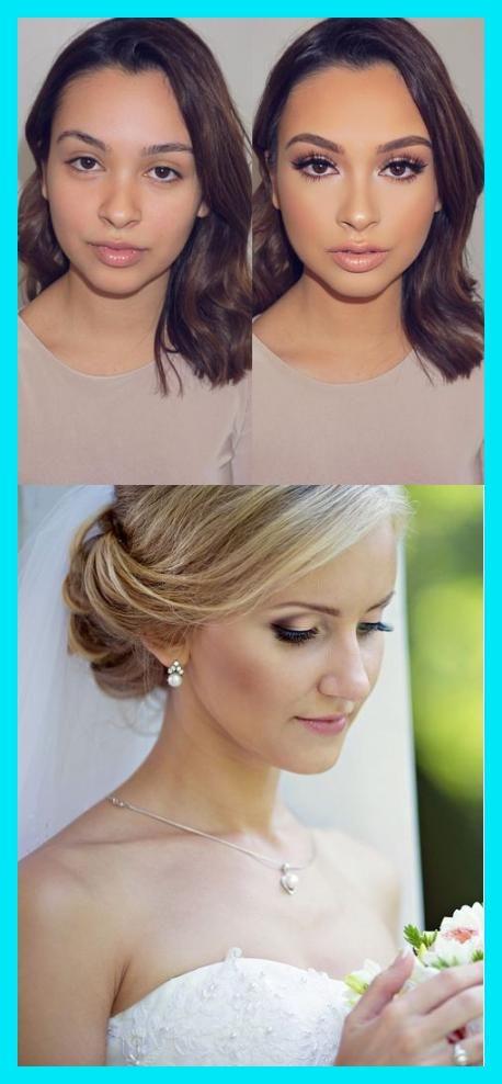 36 helle Hochzeits-Make-up-Ideen für Brünette