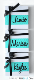 Sparkly Bridesmaid Proposal Boxes