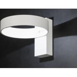 Photo of Wall lamp modern design white matt aluminum metal RundLumidora.com