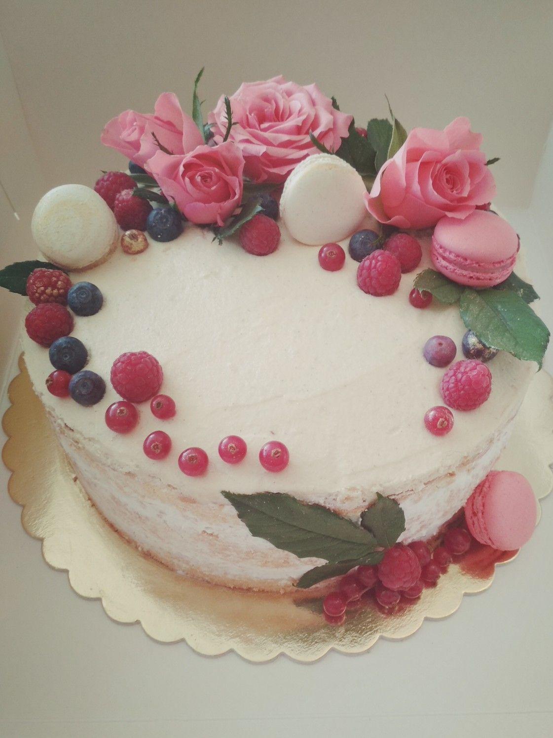 Wiosenny Tort Z Masa Chalwowa Food Cake Desserts