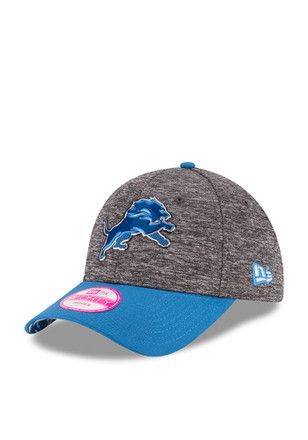 New Era Detroit Lions Blue 2016 Draft W 9FORTY Adjustable Hat  bc92274d1