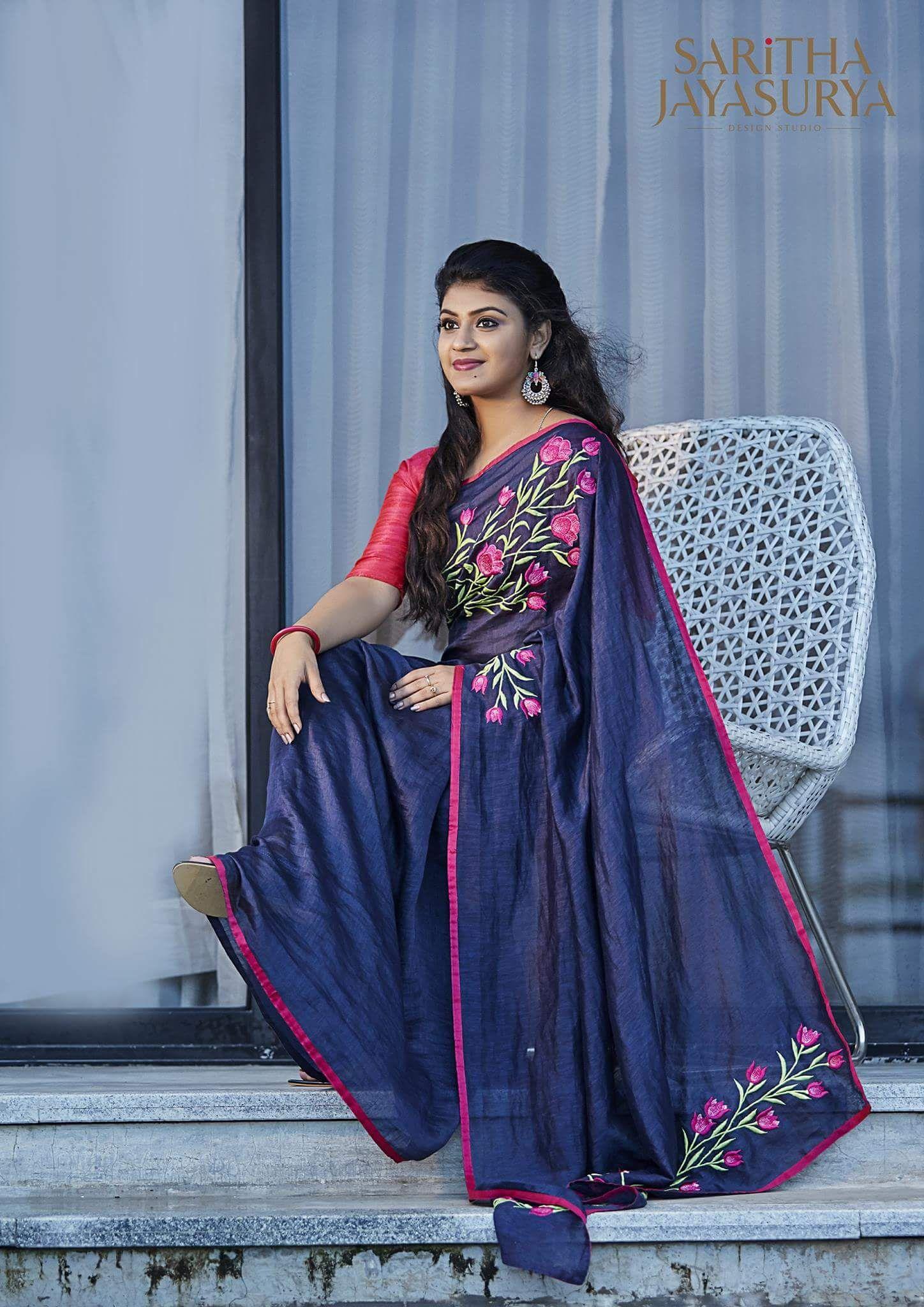 Half saree blouse design pin by karthu on designer sarees  pinterest  saree sari and