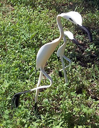 PVC Pipe Rockin\u0027 Yard Birds Family Lawn/Art Decor Black