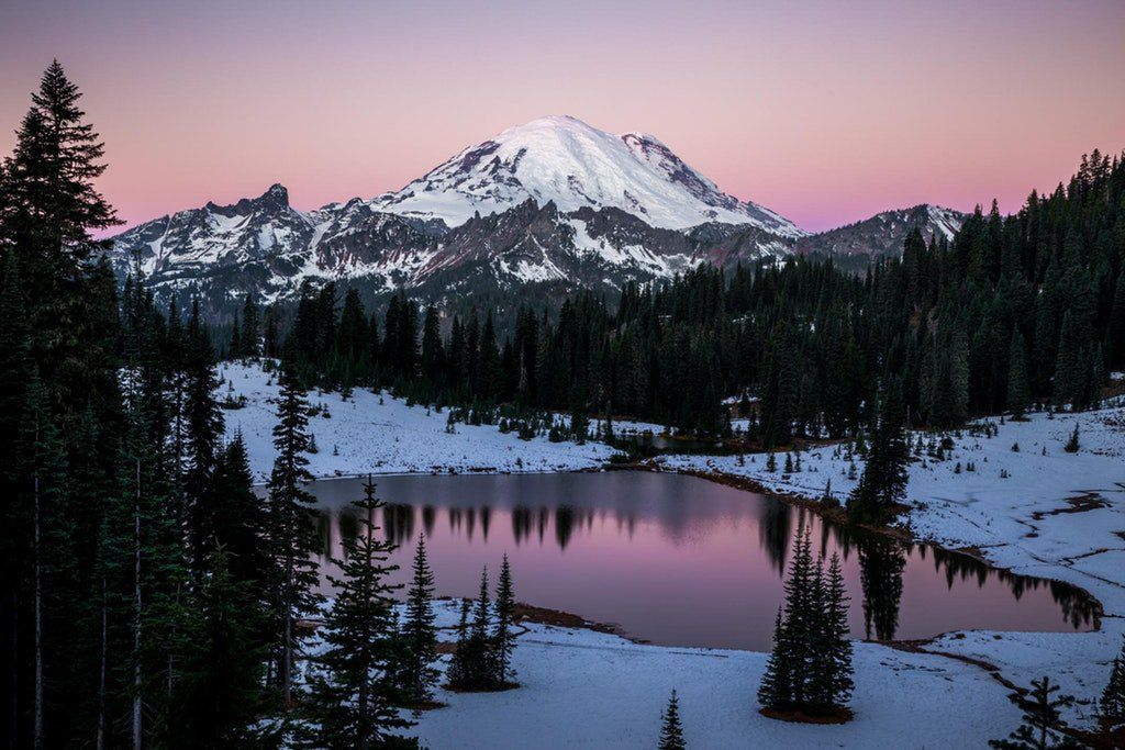 Ram 243 N On Mount Rainier National Park National Parks