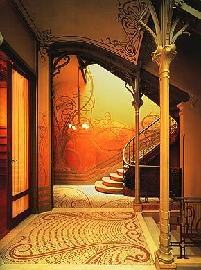 upstairs downstairs the worlds most amazing staircases is part of Art nouveau interior - Upstairs, Downstairs The World's Most Amazing Staircases artNouveau Architecture