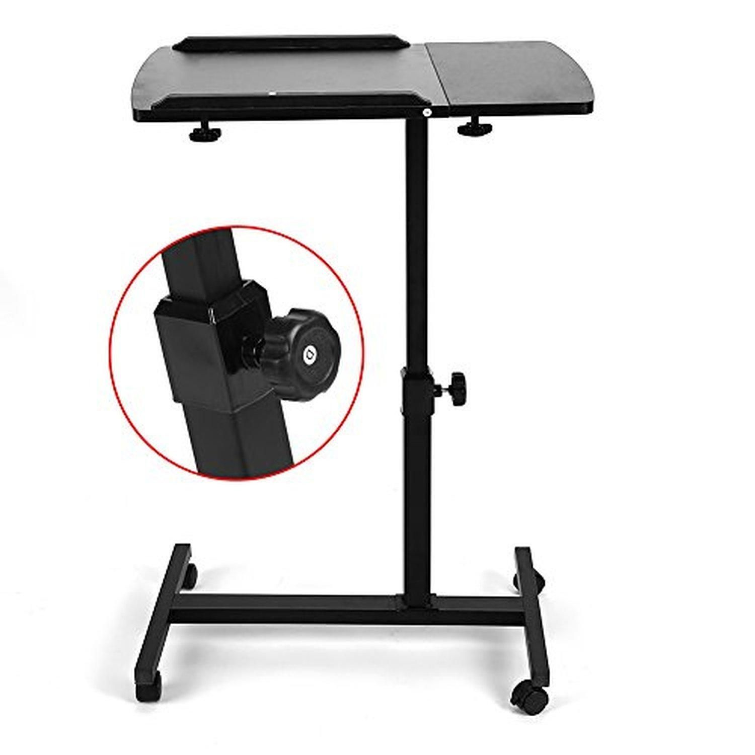 Laptop desk stand table cart couch bed adjustable standing laptop desk stand table cart couch bed adjustable standing portable work pc tray brought to geotapseo Gallery