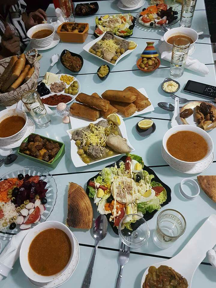 Decor De Table Decors Tunisian Food Morrocan Food Moroccan Food