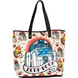 Women's Loungefly Star Wars R2-D2 Tattoo Tote Bag