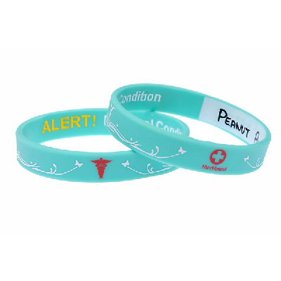 Asthma Medical Alert Bracelet Medical Alert Bracelets Uk In 2020 Medic Alert Bracelets Medical Alert Aqua Green