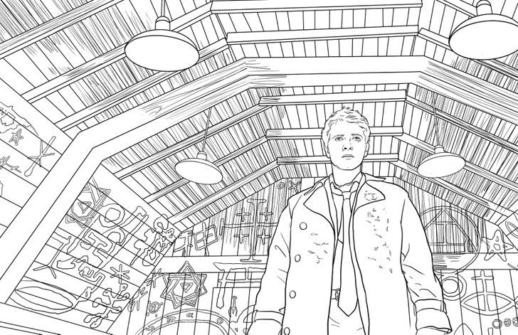 The Supernatural Coloring Book Is Everything You Could Possibly Want And More