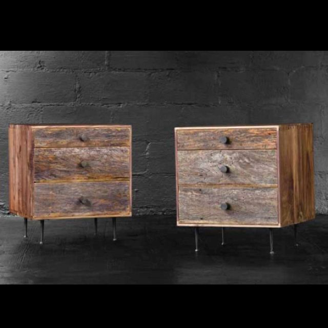 A collection of reclaimed furniture I'd like to build.