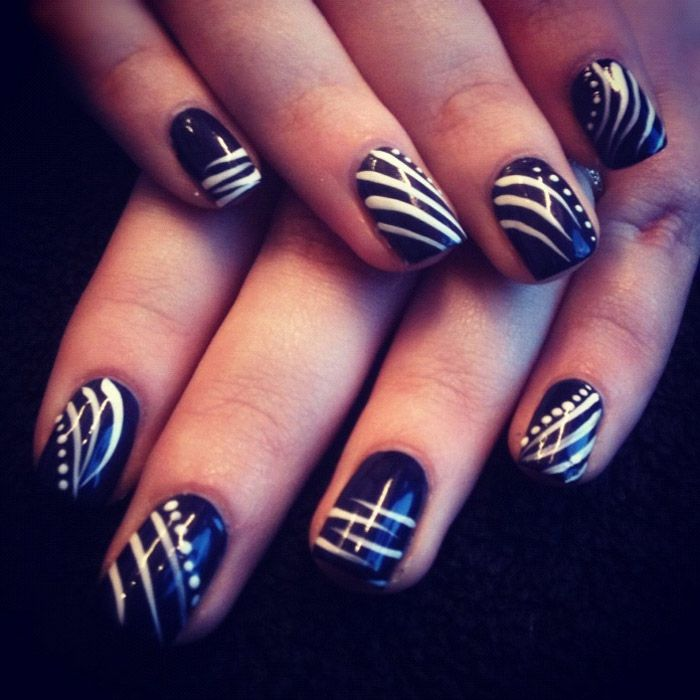 Freehand Nail Art Designs Freehand Nail Art Designs For Beginners
