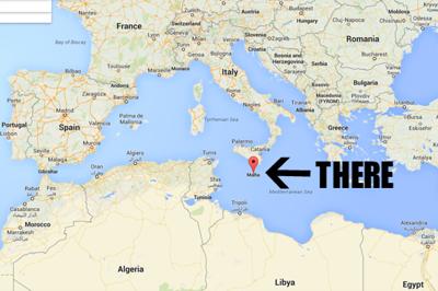So, Where Is Malta   Where is malta, Malta, World thinking day