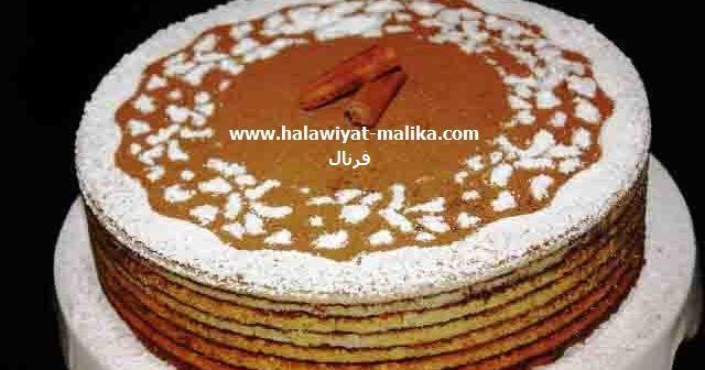 كيكة طبقات القرفة راقية ولذيذة Arabic Food Food Desserts