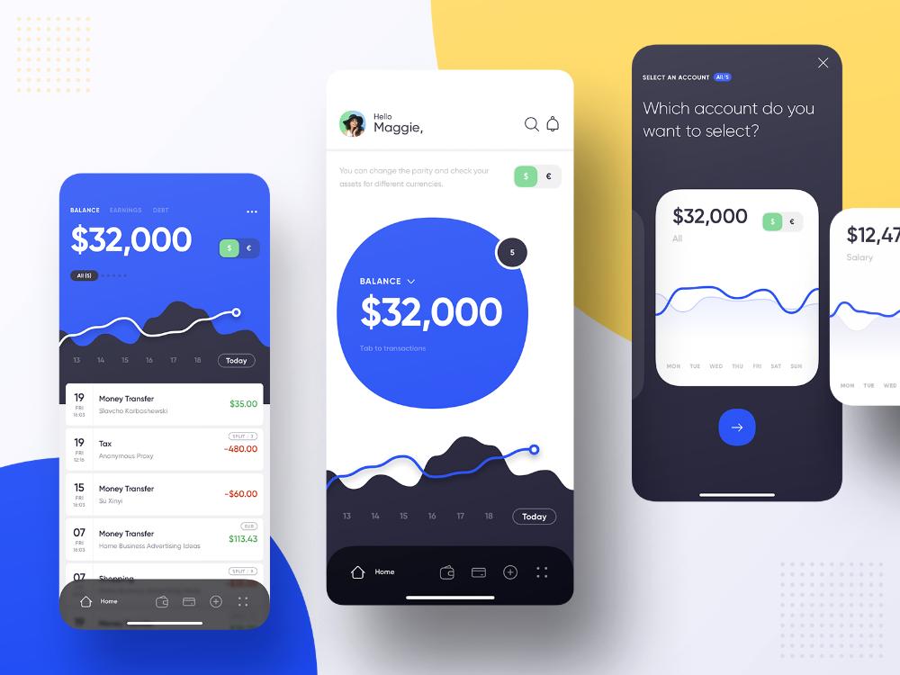 Mobile Banking Dashboard Mobile Banking Banking Banking App