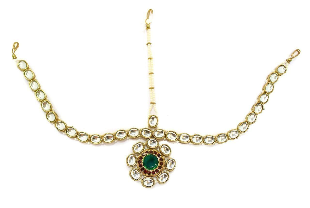 Zaveri Pearls Dulhan Maang Tikka Zaveri Pearls Jewellery