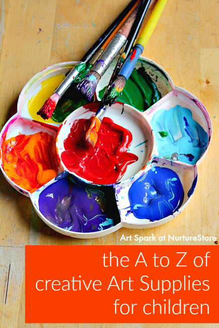 The A to Z of the best art materials for children free