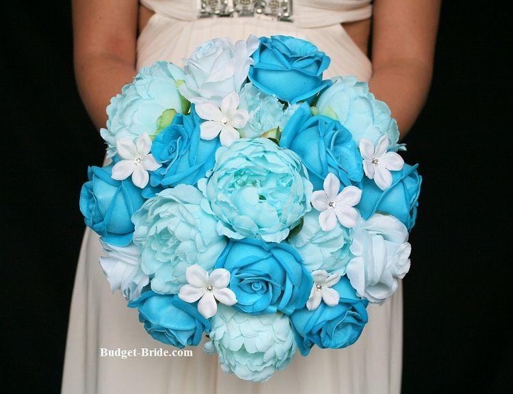 Aqua Blue Wedding Flowers Aqua Blue Wedding Blue Wedding