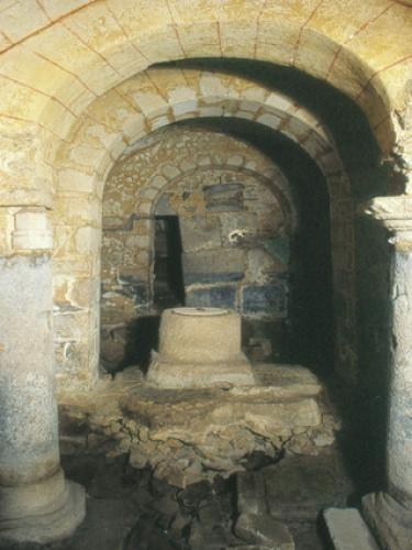 La Souterraine: De Gallo-Romeinse crypte - France-Voyage.com