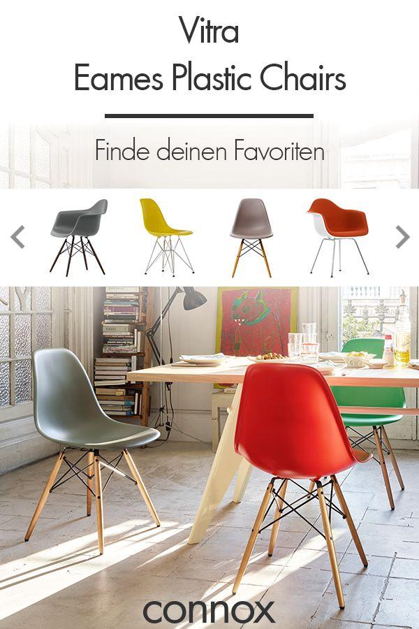 Eames Stuhl gesucht? Entdecke alle Varianten des Eames Plastic Side