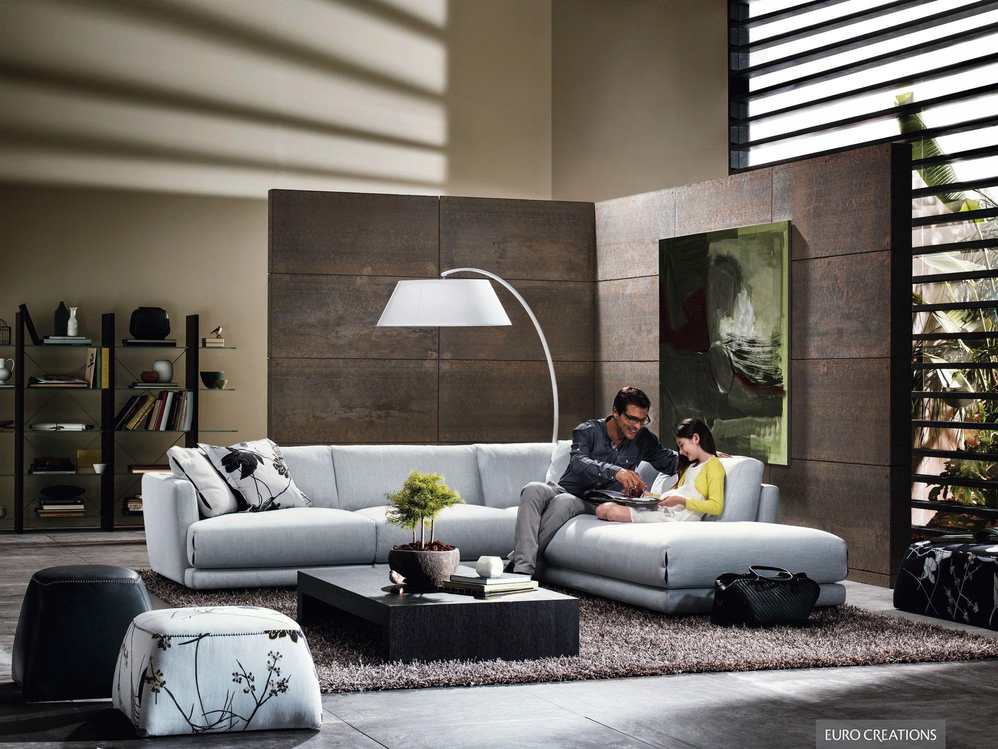 Natuzzi Editions Blue Velvet Armchair   Furniture Brand ...