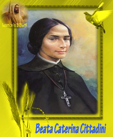 Beata Caterina Cittadini Biblia Santoral Bergamo