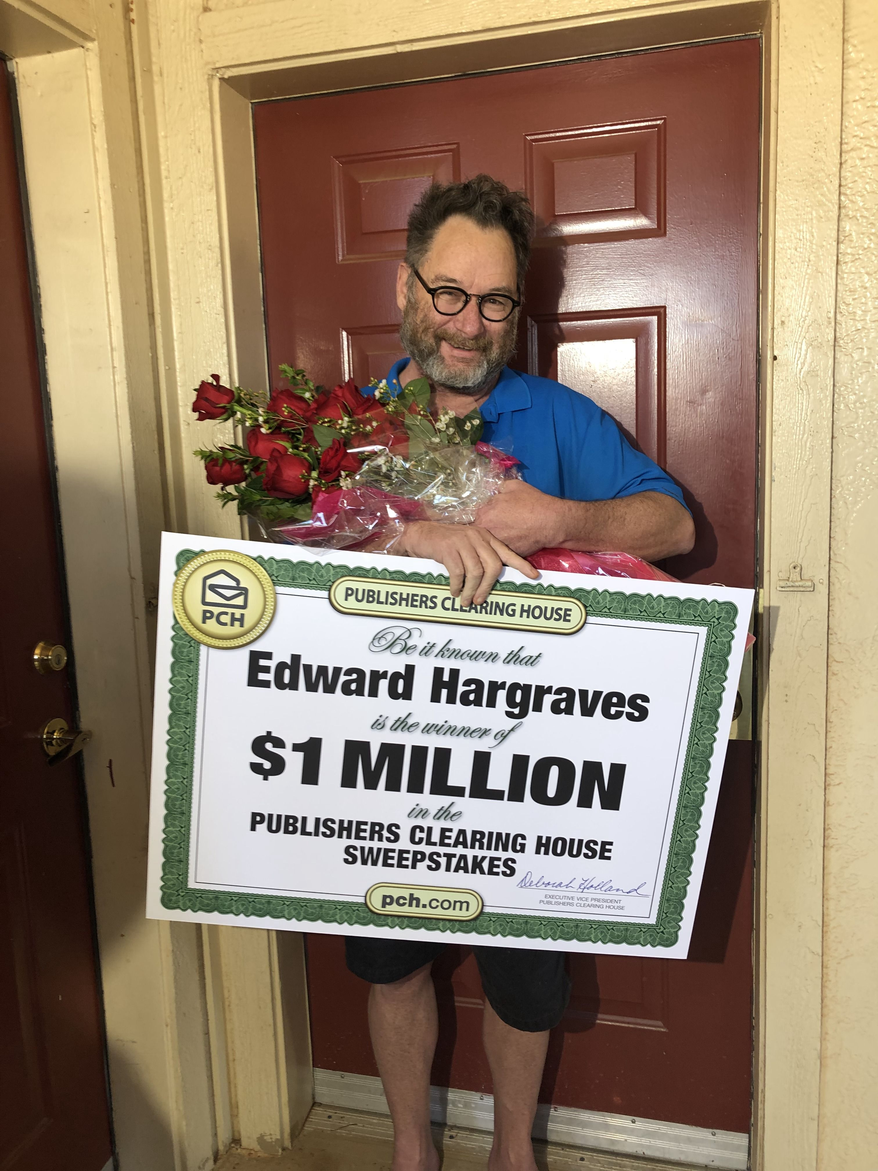 Publishers Clearing House Winners: Edward Hargraves From Oklahoma