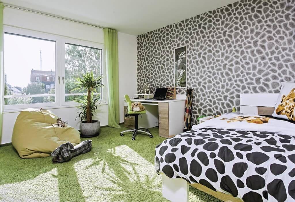 Badezimmerteppich grün ~ Kinderzimmer ideen modern city life haus 250 weberhaus