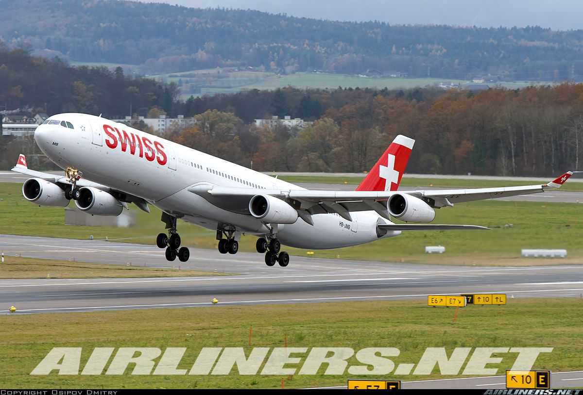 Airbus a340 313 swiss international air lines aviation photo - Airbus A340 313 Swiss International Air Lines Aviation Photo 4109651 Airliners