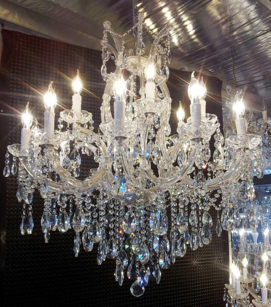 Antique Crystal Chandelier Have This Same One Going In My Purple Room