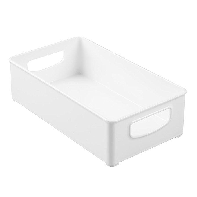 Amazon interdesign home kitchen organizer bin for pantry refrigerator freezer  also rh pinterest