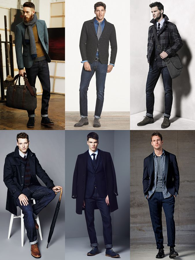 392fcab5c4d99 Men s Slim Indigo Jeans Styling - Smart Outfit Inspiration Lookbook ...