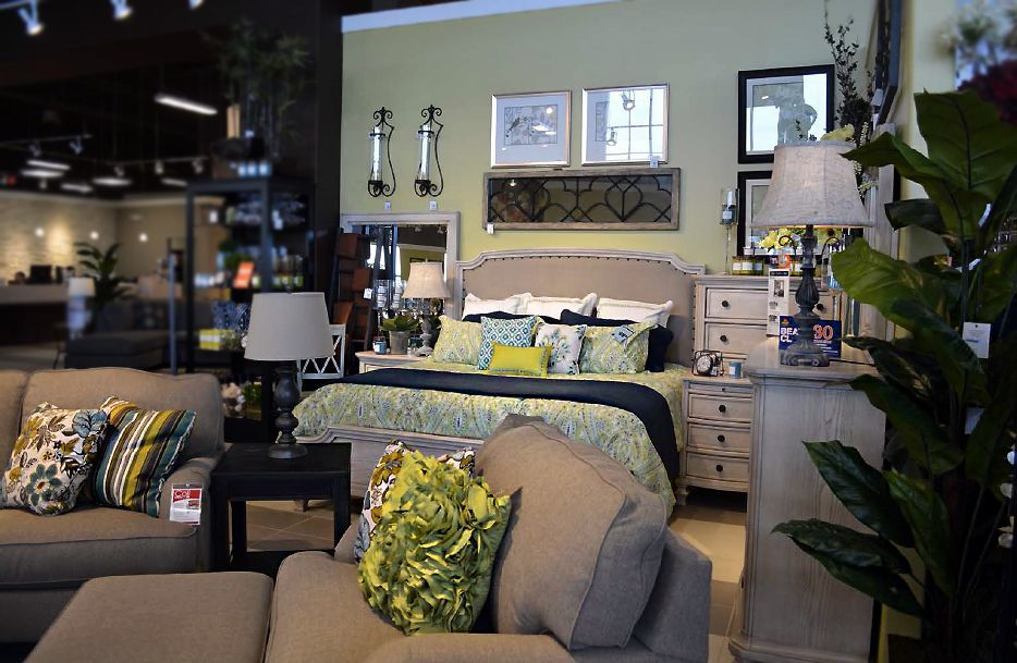 Beau Casual Elegance Is Well Within Reach  Demarlos At Ashley Furniture Homestore