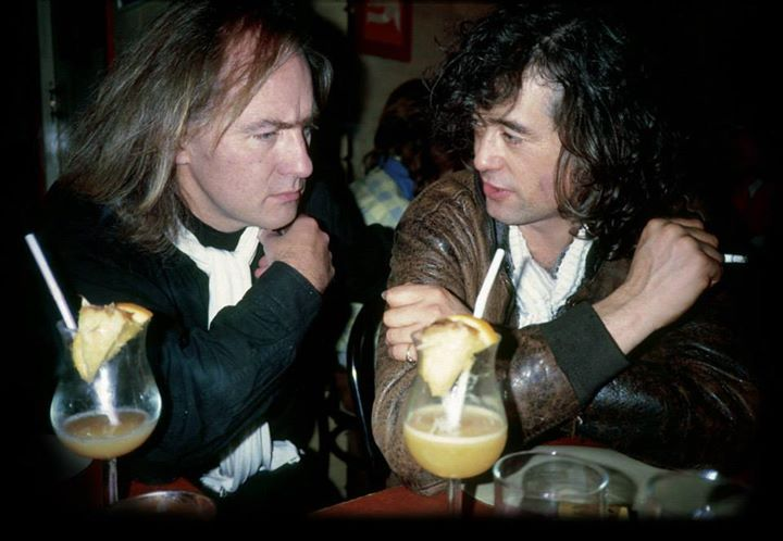 Jimmy Page and Roy Harper